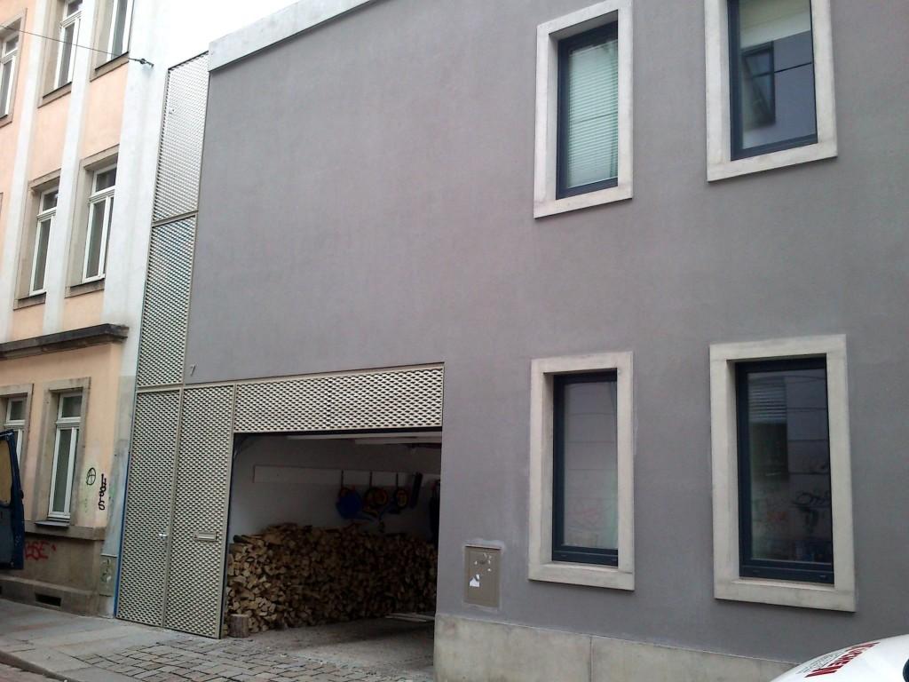 Wohnhaus, Böhmische Straße (Architekten: P + P Schwarzenberger).