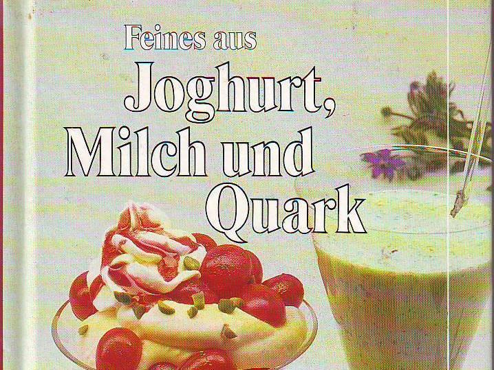 Feines aus Joghurt, Milch und Quark, Burda 1988 [Umschlagdetail).