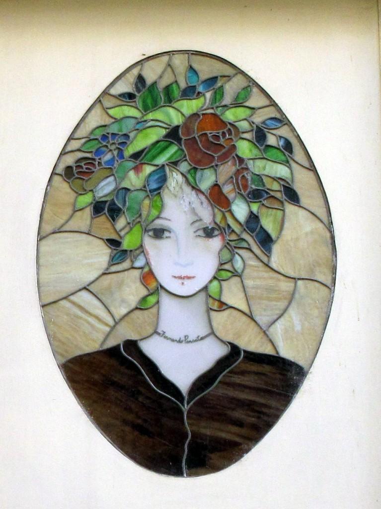 "Semper floreat! Detail einer ehemaligen ""Fernando Pensato""-Ladenfassade, Via Cappelli, Verona."