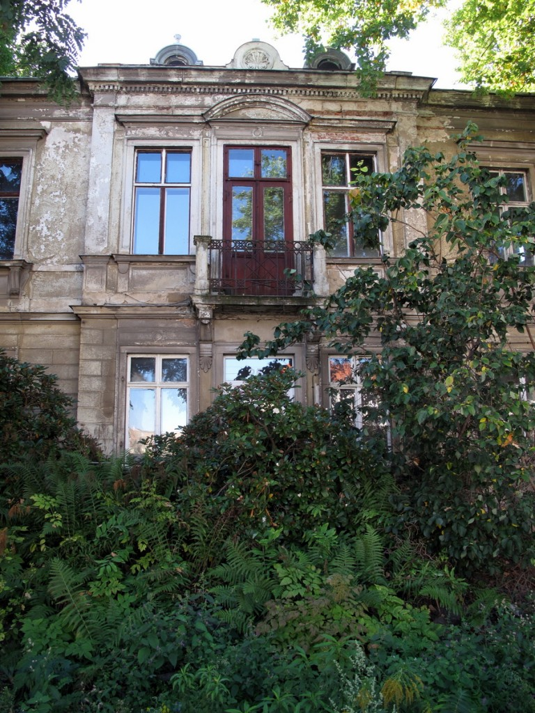 Villa Groenhainer Strae 25, Vordergarten.