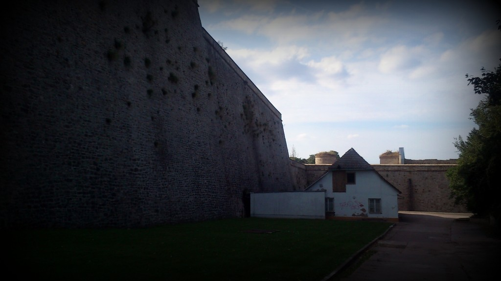 Bastion Franz, Zitadelle Petersberg, Erfurt.