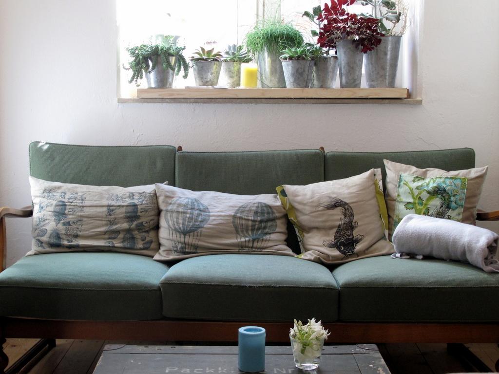 Sofa-Asyl für Schlusselschussel.