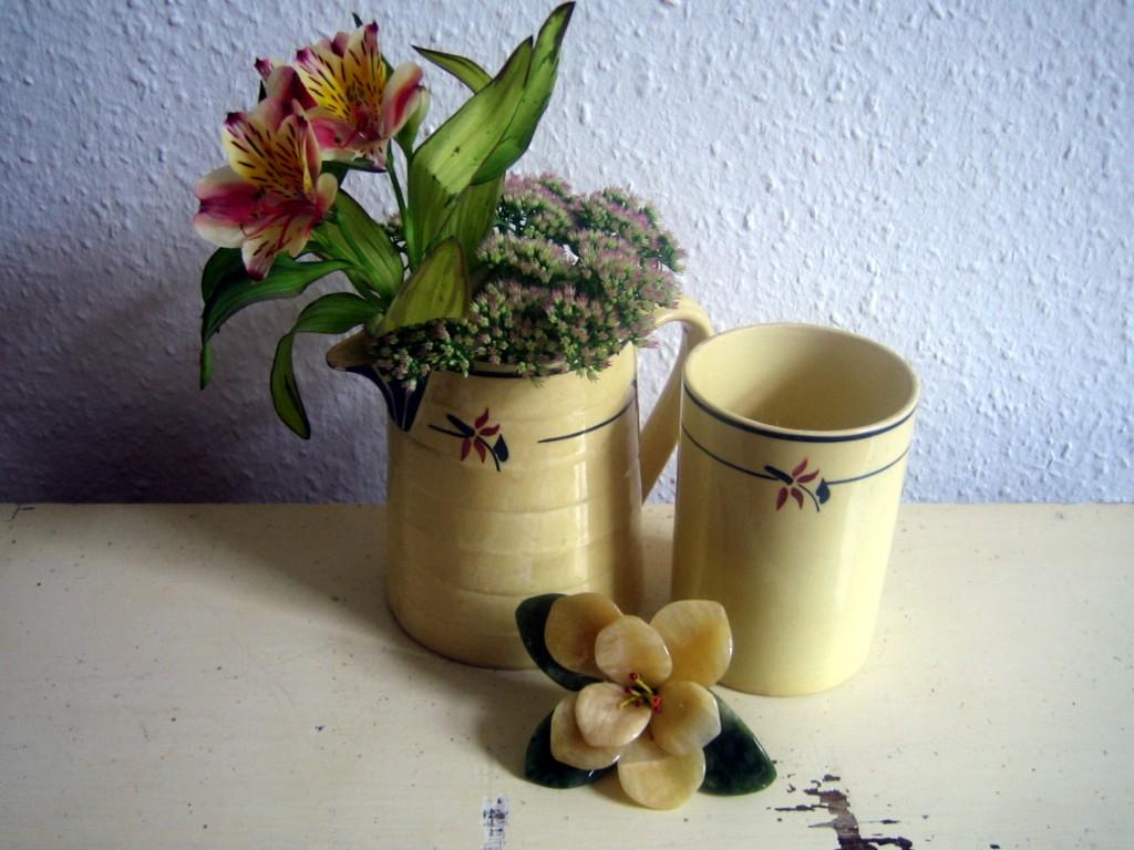 Flohmarktfund: französische Keramik.