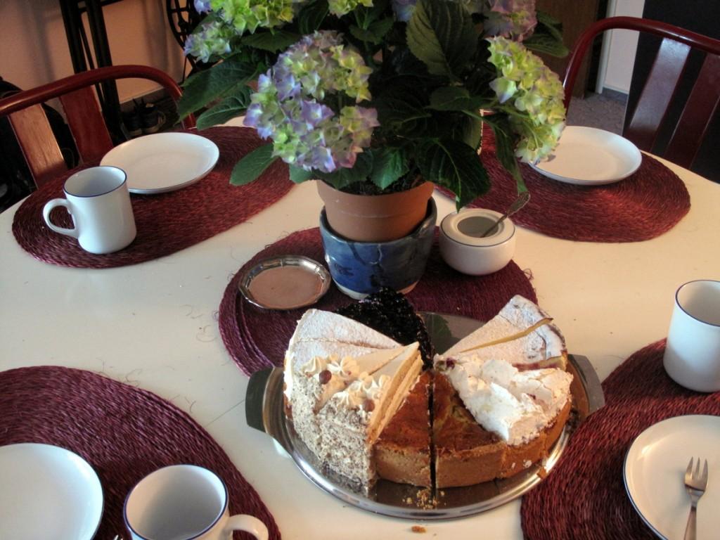 Kuchen von der Rottweiler Filiale der Kutmühle – eine der besten Bäckereien im Südwesten, leider ohne Website.