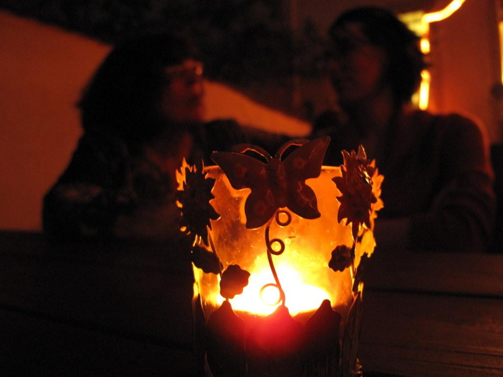 Abendstimmung im Kosakenhof.