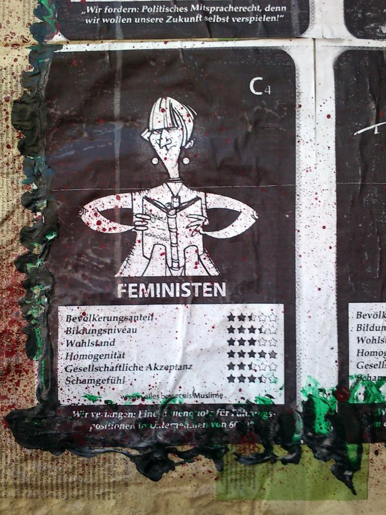 Feministen: verlangen eine Quote.