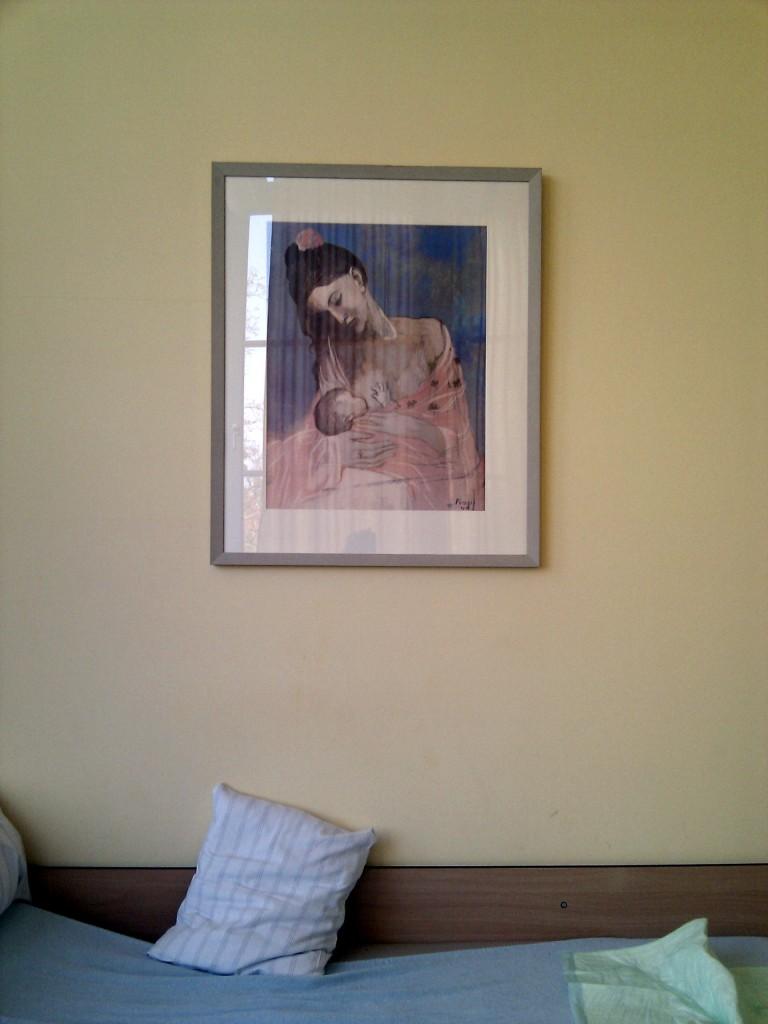 Picasso-Kunstdruck.