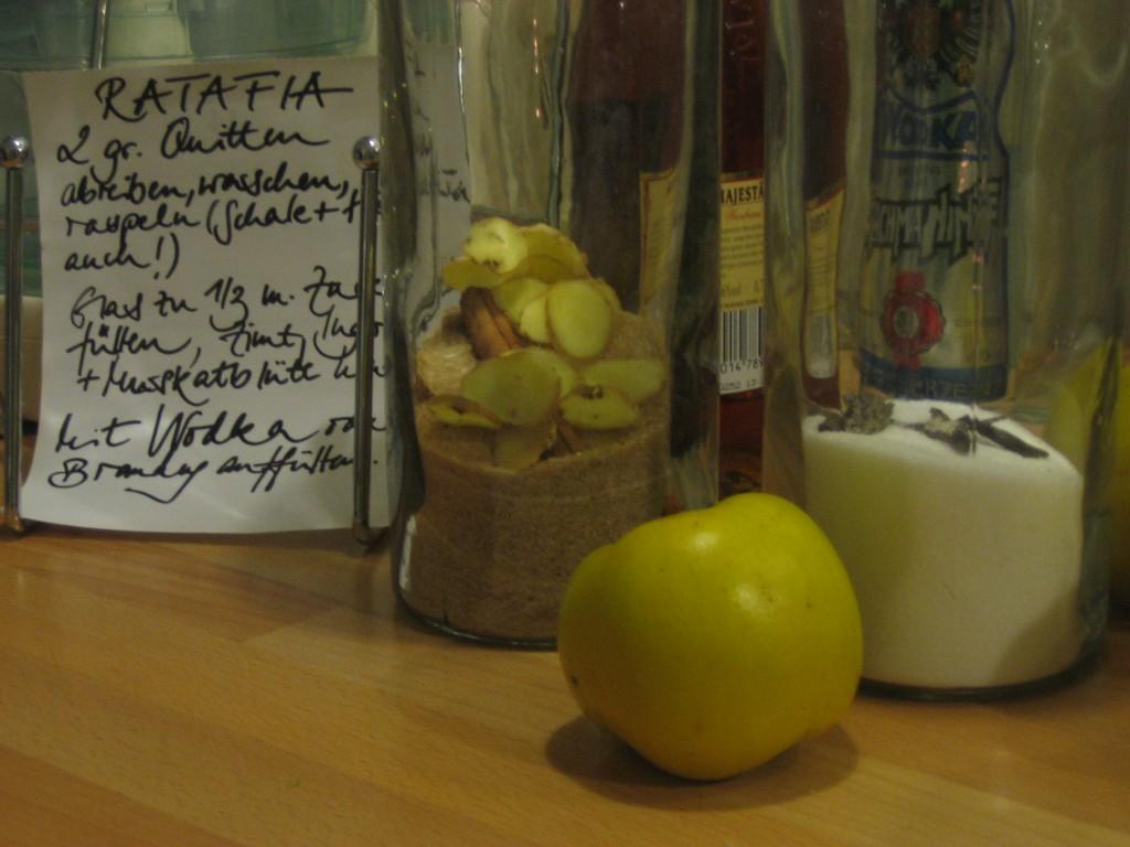 Ratafia-Grundrezept.