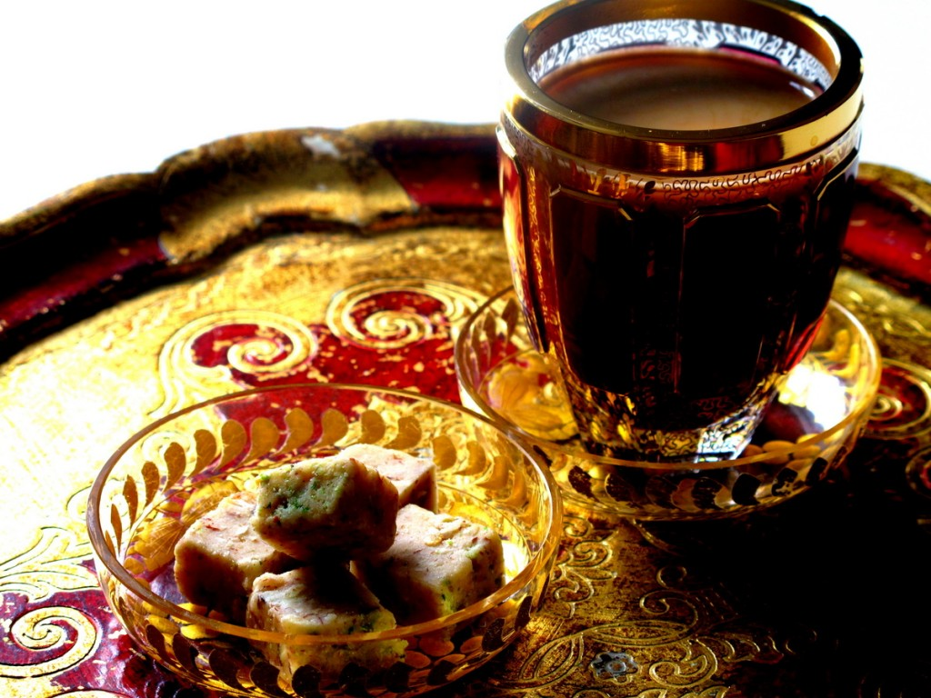 Afghanische Gaumenfreude: Shir Perah zum Kaffee. Foodstyling: ich. Foto: JMK.