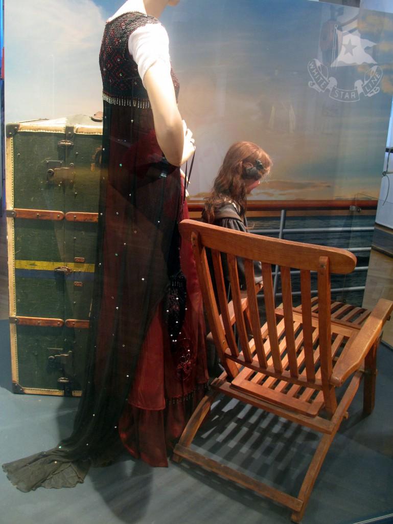 """Hippie meets Empire: Dem """"Jump Dress"""" aus James Camerons Titanic-Verfilmung nachempfunden."""
