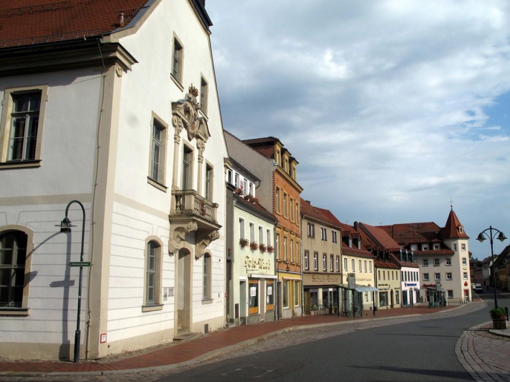 Wilsdruffer Rathaus am Marktplatz.