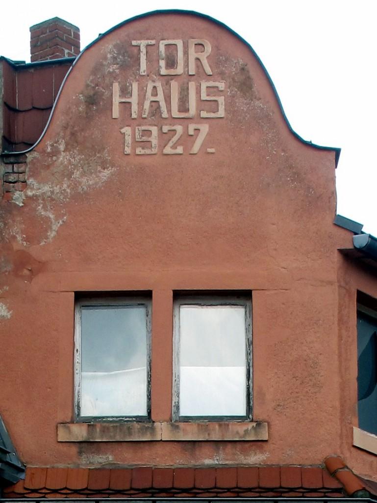 Torhaus 1927.