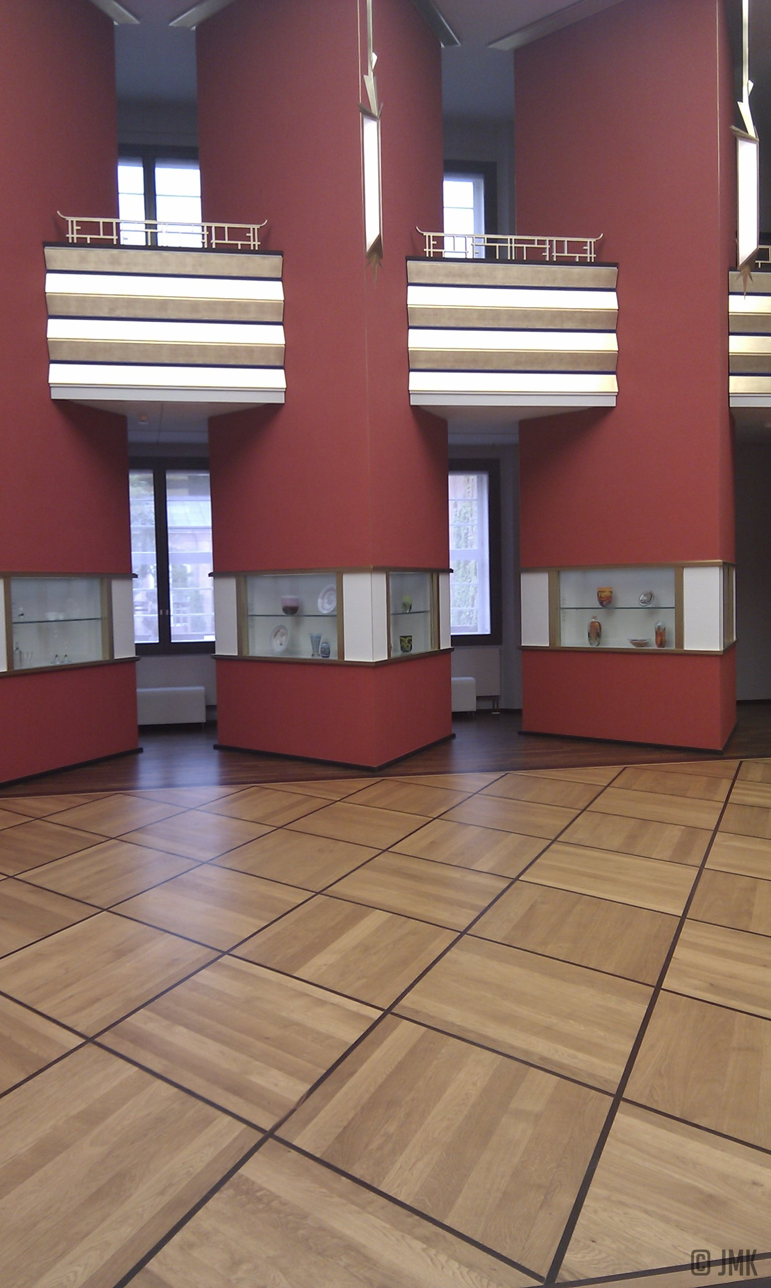 Pfeilerhalle im Grassi